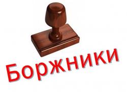 Відомість про заборгованість станом на 01.12.2020р.